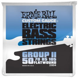 Ernie Ball 2804 Group II FlatWound Ηλεκτρικού Μπάσου ΣΕΤ ΜΠΑΣΟΥ Μουσικα Οργανα - Κιθαρες - Kagmakis Guitars