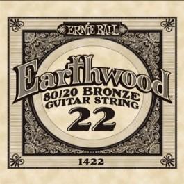 Ernie Ball 1422 Earthwood Bronze Μονή Χορδή Ακουστικής Κιθάρας 022 ΜΟΝΕΣ ΧΟΡΔΕΣ Μουσικα Οργανα - Κιθαρες - Kagmakis Guitars