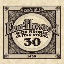 Ernie Ball 1430 Earthwood Bronze Μονή Χορδή Ακουστικής Κιθάρας 030 ΜΟΝΕΣ ΧΟΡΔΕΣ Μουσικα Οργανα - Κιθαρες - Kagmakis Guitars