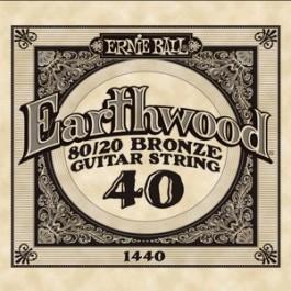 Ernie Ball 1440 Earthwood Bronze Μονή Χορδή Ακουστικής Κιθάρας 040 ΜΟΝΕΣ ΧΟΡΔΕΣ Μουσικα Οργανα - Κιθαρες - Kagmakis Guitars