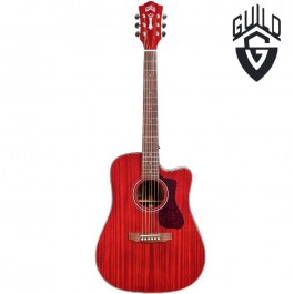 Kιθαρες - Guild D120CE Westerly Ηλεκτροακουστική Κιθάρα Cherry Red ΗΛΕΚΤΡΟΑΚΟΥΣΤΙΚΕΣ Μουσικα Οργανα -  Kagmakis Guitars