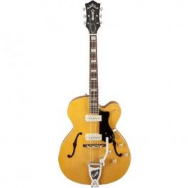 Kιθαρες - Guild X-175B Manhattan Vibrato Ηλεκτρική Κιθάρα Hollowbody Blonde SEMI HOLLOW Μουσικα Οργανα -  Kagmakis Guitars