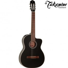 Takamine GC1CE-BLK Ηλεκτροκλασική Κιθάρα Black PRODUCTS FROM XML Μουσικα Οργανα - Κιθαρες - Kagmakis Guitars