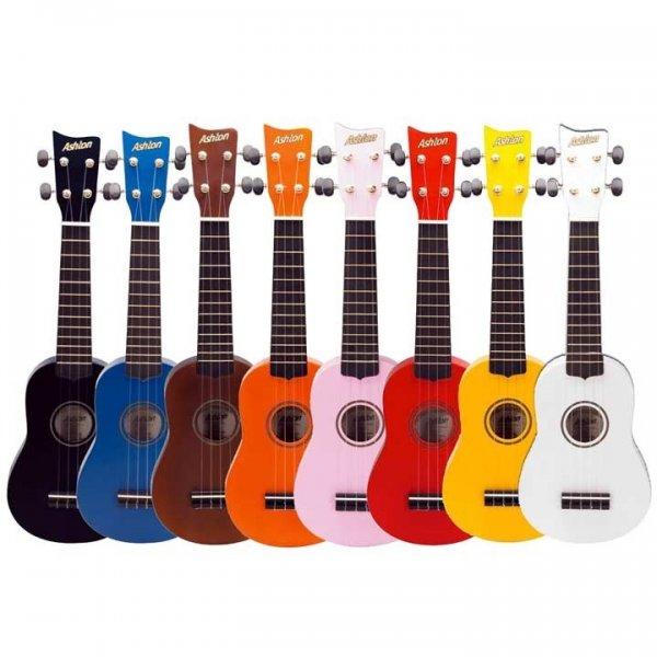 Μουσικα Οργανα - Ashton UKE100NG Ukelele Πορτοκαλί με Θήκη UKULELE - Kagmakis Guitars