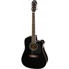 Aria AWN-15CE Cutaway Black Ηλεκτροακουστική κιθάρα