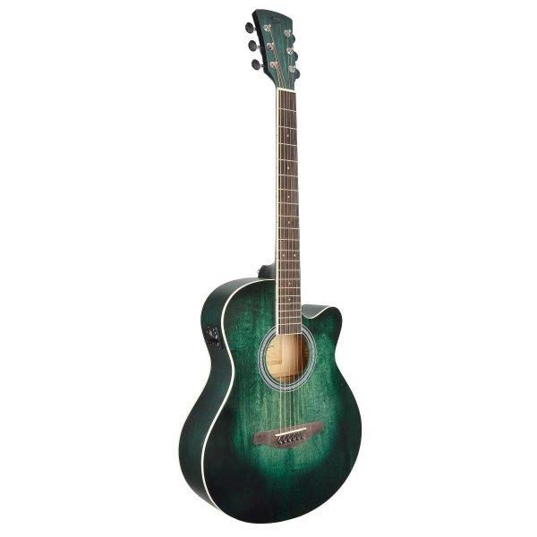 SOUNDSATION SAGUARO-HW-CE Green Ηλεκτροακουστική κιθάρα