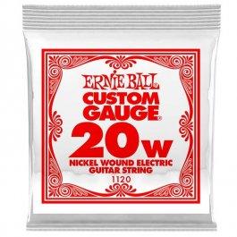 ERNIE BALL 1120 Slinky Nickel Μονή Χορδή Ηλεκτρικής Κιθάρας 020W ΧΟΡΔΕΣ ΜΟΝΕΣ ΗΛΕΚΤΡΙΚΗΣ ΚΙΘΑΡΑΣ ROUND