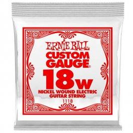 ERNIE BALL 1118 Slinky Nickel Μονή Χορδή Ηλεκτρικής Κιθάρας 018W ΧΟΡΔΕΣ ΜΟΝΕΣ ΗΛΕΚΤΡΙΚΗΣ ΚΙΘΑΡΑΣ ROUND