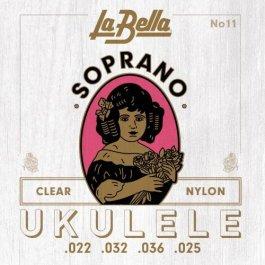 La Bella Soprano Ukulele Nylon Σετ χορδές Ukulele