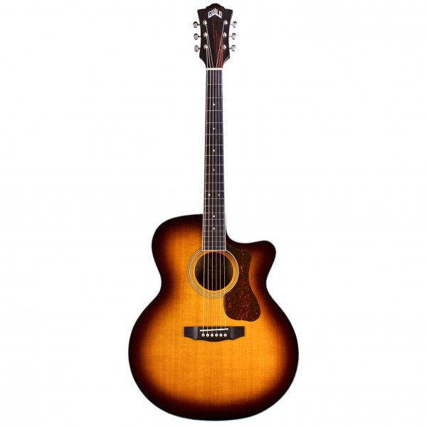Guild F250CE Deluxe Ηλεκτροακουστική Κιθάρα Antique Burst PRODUCTS FROM XML Μουσικα Οργανα - Κιθαρες - Kagmakis Guitars
