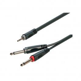 SOUNDSATION Go-Link JACK Male Mini Stereo - 2 JACK Male Mono 1.50m Καλώδιο αντάπτορας ΚΑΛΩΔΙΑ Μουσικα Οργανα - Κιθαρες - Kagmakis Guitars