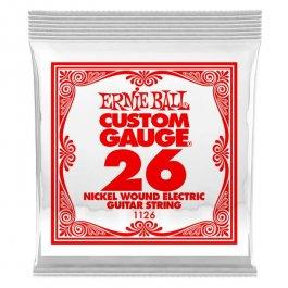 ERNIE BALL 1126 Slinky Nickel Μονή Χορδή Ηλεκτρικής Κιθάρας 026 ΧΟΡΔΕΣ ΜΟΝΕΣ ΗΛΕΚΤΡΙΚΗΣ ΚΙΘΑΡΑΣ ROUND