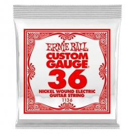 ERNIE BALL 1136 Slinky Nickel Μονή Χορδή Ηλεκτρικής Κιθάρας 036 ΧΟΡΔΕΣ ΜΟΝΕΣ ΗΛΕΚΤΡΙΚΗΣ ΚΙΘΑΡΑΣ ROUND