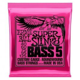 Ernie Ball 2824 Super Slinky 5-String Ηλεκρικού Μπάσου PRODUCTS FROM XML Μουσικα Οργανα - Κιθαρες - Kagmakis Guitars