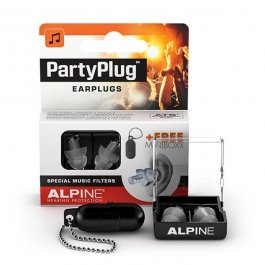 ALPINE Partyplug MKII Black & Case Ωτοασπίδες PRODUCTS FROM XML Μουσικα Οργανα - Κιθαρες - Kagmakis Guitars