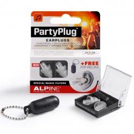 ALPINE Partyplug MKII Silver & Case Ωτοασπίδες ΑΞΕΣΟΥΑΡ Μουσικα Οργανα - Κιθαρες - Kagmakis Guitars
