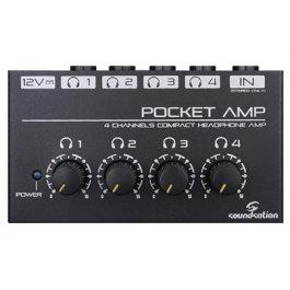 SOUNDSATION Pocket Amp Headphone Amplifier Ενισχυτής ακουστικών ΠΕΡΙΦΕΡΕΙΑΚΑ Μουσικα Οργανα - Κιθαρες - Kagmakis Guitars