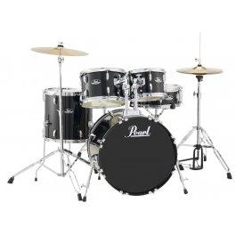 Pearl RS505C Roadshow Jet Black Σετ Drums με Βάσεις και Πιατίνια